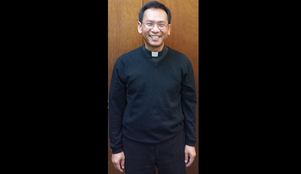 Father Michael Pham of St Therese Parishweb