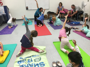 Children's Yoga, January, 2015
