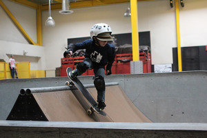 Skateboarders of all ages can compete at the Kroc Center Skatepark's Nosegrind November event. (Courtesy of The Salvation Army Kroc Center Skatepark)