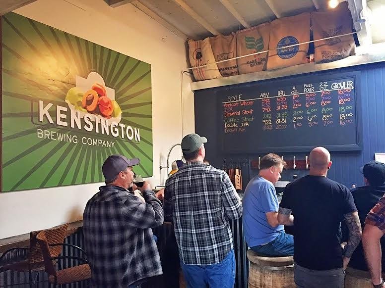 Kensington Brewing Company serves customers Old World style, malt forward beers. (Photo by Cody Thompson)