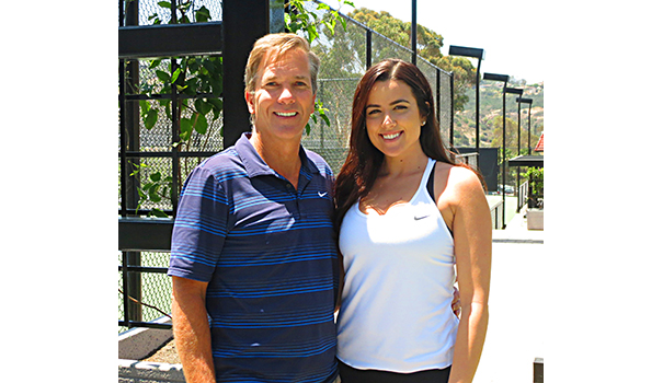 Alan and Anne Marie Ferguson at Del Cerro Tennis Clubwebtop