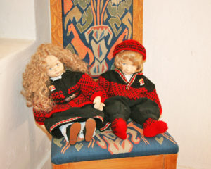 Norwegian dolls on display at the House of Norway in Balboa Park (Facebook)