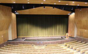 A look inside of the new PHAME theater.