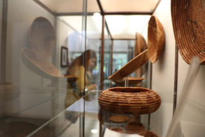 A Native basket display at the new cultural museum at Sycuan Casino (Courtesy of Sycuan Casino)