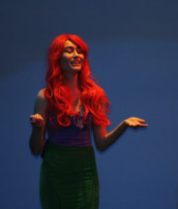 """Meredith Yokoyama sings """"Part of Your World"""" from the upcoming presentation of """"Little Mermaid"""""""