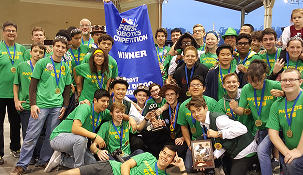 Robotics team moves on to national championships
