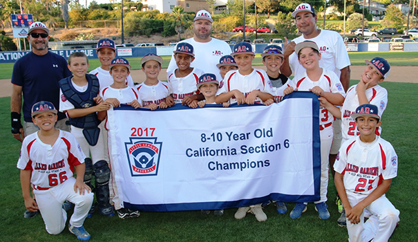 Allied Gardens Little League place fifth in state
