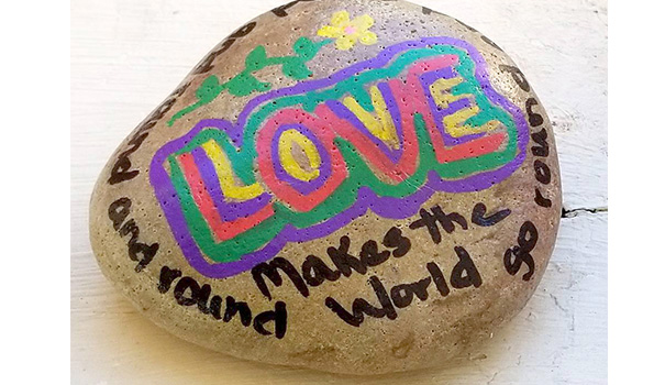 Rocks with a higher purpose
